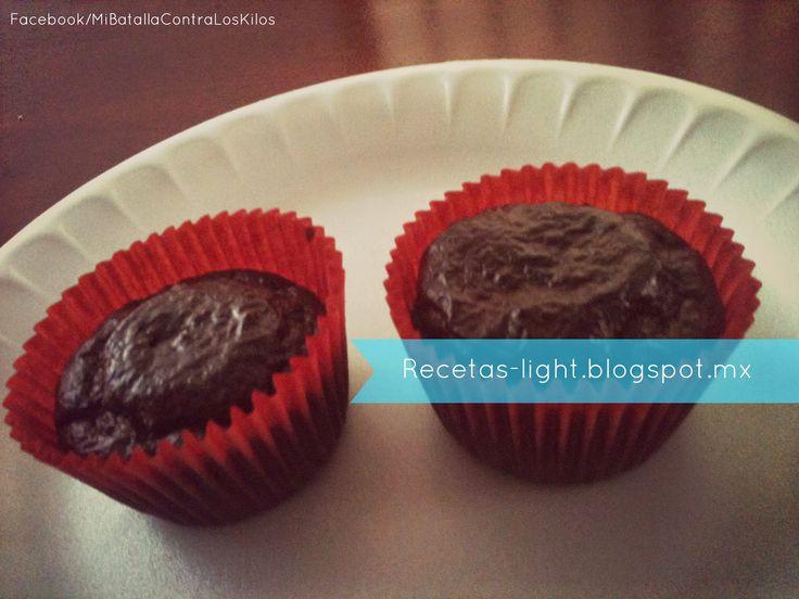 Low Carb Cupcake de chocolate con linaza (no harina)