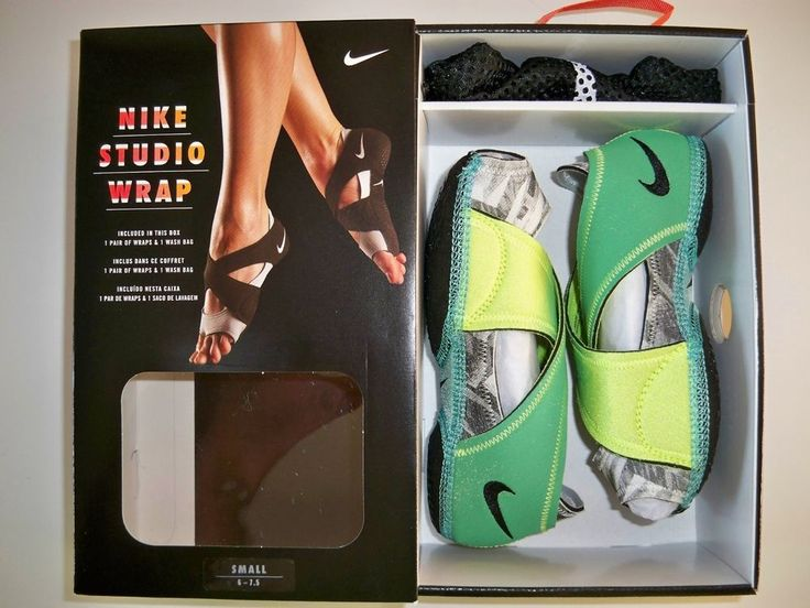 616047-300 New in Box NIKE Studio Wrap Training~Dance~Mat~Yoga Shoe LIME PRINT #Nike #YogaDanceKickboxinganythingonmatorwood