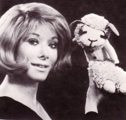 Shari Lewis and Lamb Chop  This is the the song that doesn't end it goes on and on my friends ...