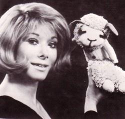 Shari Lewis and Lamb Chop..