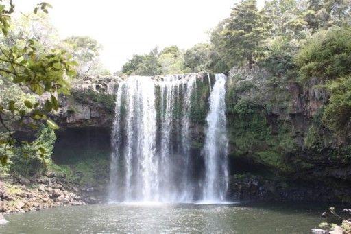 Beautiful Rainbow Falls, Kerikeri, New Zealand