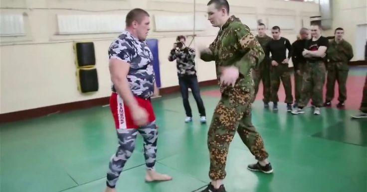 Ειδικές Δυνάμεις Vs Μαχητές Του MMA (Video) Crazynews.gr