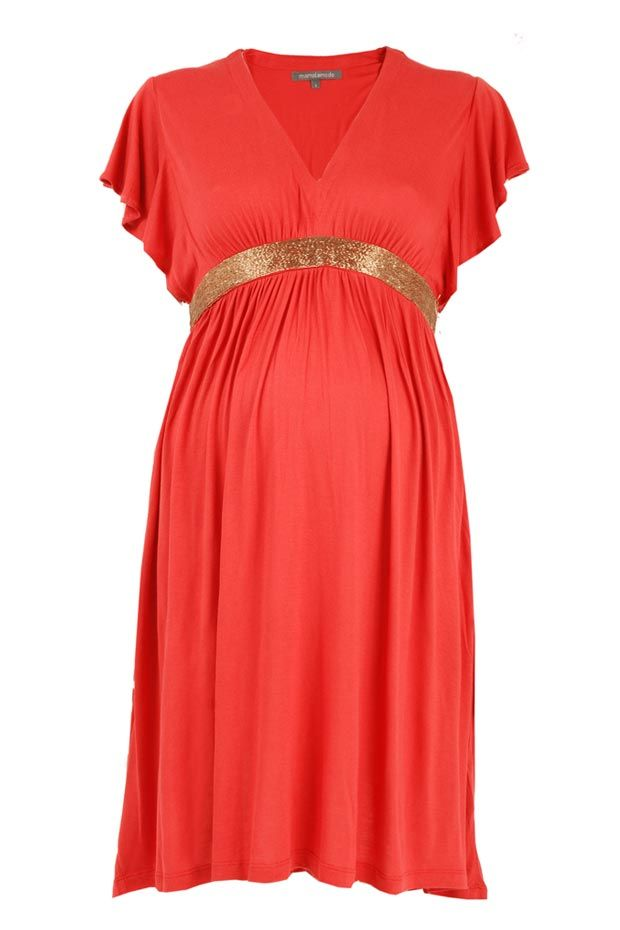 Maternity Dress=love the color