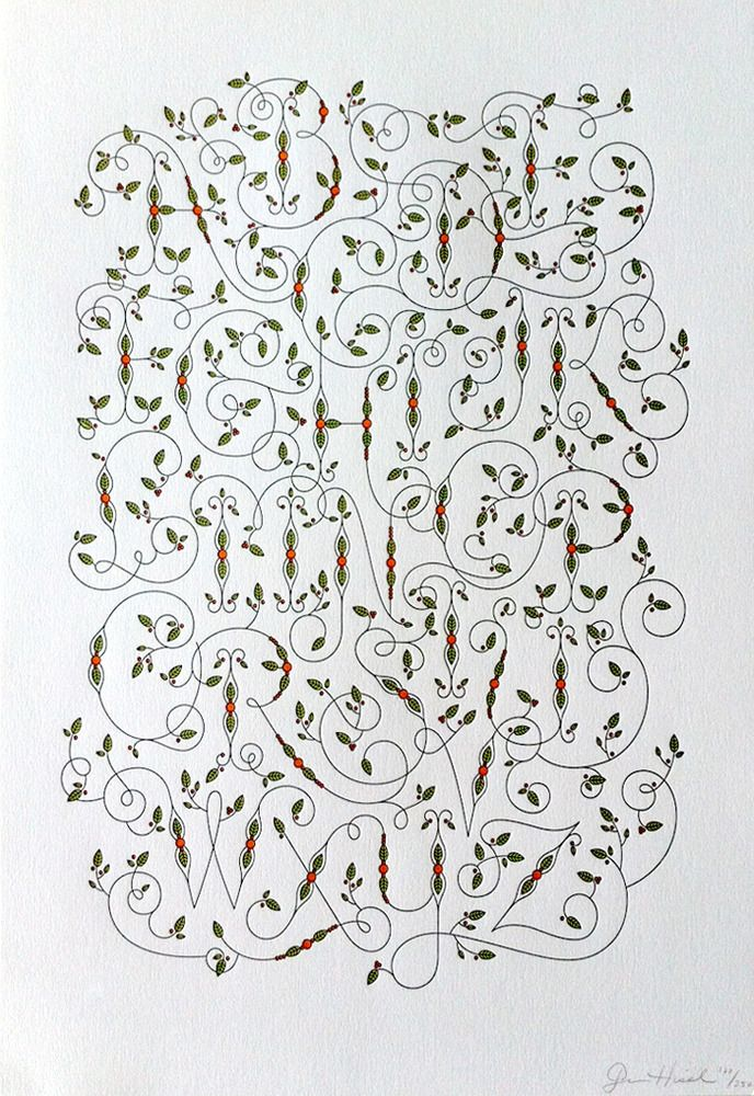 Viney Alphabet | Letterpress by Jessica Hische | I really want to buy this today!
