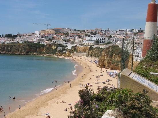 Albufeira beach & town (1590314)