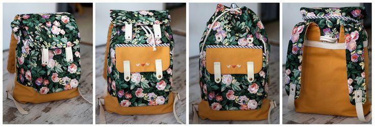 Нас много и мы в тельняшках ))) Лето скоро, пора путешествовать! Сегодня у нас на сладкое мини-МК по рюкзаку немаленького размера. Очень по...
