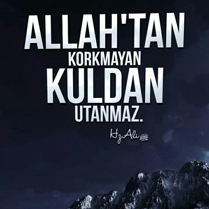 ⚠ Allah'tan korkmayan,  Kuldan utanmaz.  [Hz Ali r.a]  #Allah #kork #kul #utan #söz #hzali #sözler #müslüman #hayırlıcumalar #istanbul #ilmisuffa