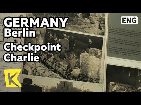 【K】Germany Travel-Berlin[독일 여행-베를린]베를린 장벽 검문소, 체크포인트 찰리/Checkpoint Charlie/Berlin Wall Checkpoint - YouTube