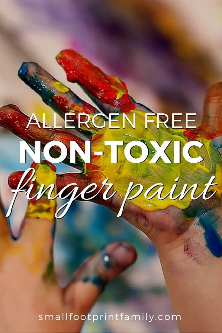 Store-bought finger paints can contain toxic chemicals and allergens that can harm your child. Here's a recipe for allergen-free, non-toxic finger paints.