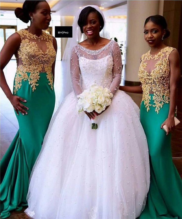 Pictures of chief bridesmaid dresses in nigeria africa