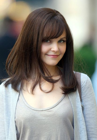 Ginnifer Goodwin On set with Something Borrowed on Park Avenue.