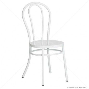 Bentwood Chair - Thonet Reproduction - White - Buy Thonet Bentwood Chair Replicas - Milan Direct