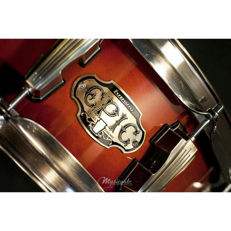 LUDWIG EPIC Snare 13x5 - Mahogany Burst