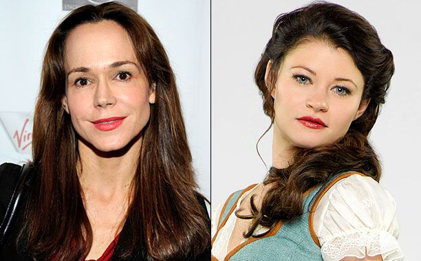 'Once Upon a Time' casts Frances O'Connor as Belle's mom. We'll get to know belle's past ! So excited:D