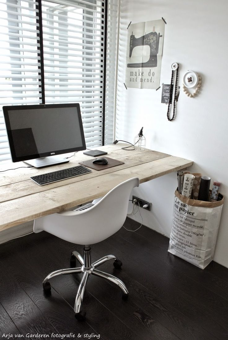 Rustic Home Ofiice | #homeoffice #office #interior #decoration