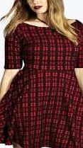 boohoo Tartan Bardot Skater Dress - red pzz98620 Look knock-out on nights out in figure-skimming bodycon fits, flowing maxi lengths and stunning sequin-embellished occasion dresses. This season make for satin sheen slip dresses in mink nudes, and ma http://www.comparestoreprices.co.uk/dresses/boohoo-tartan-bardot-skater-dress--red-pzz98620.asp
