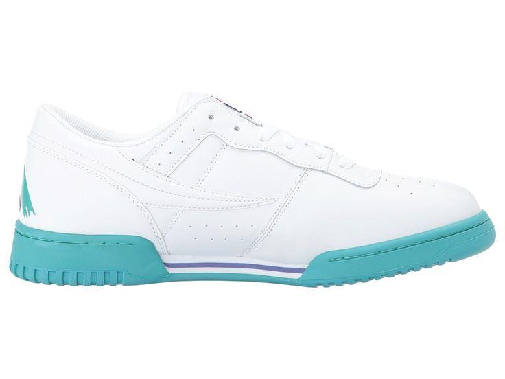 Fila Original Fitness Logo Men's Shoes White/Royal Blue/Lagoon