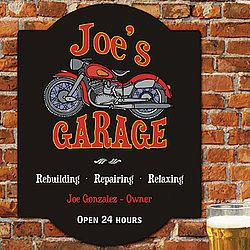 father's day garage signs