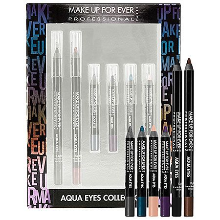 Gifts that Ship Free: MAKE UP FOR EVER Aqua Eyes Collection - $36 #Sephora #GiftIdeas #Holiday #GiftExtraordinary
