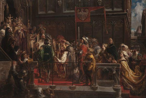 Chrzest Władysława Warneńczyka 18-II-1425r - Jan Matejko