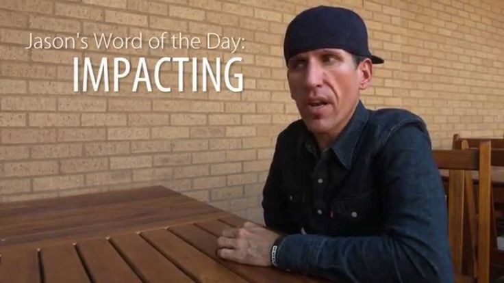 "Jason Lester talks about ""Impacting."" Watch the Word of the Day video here #m5m #mannatech"