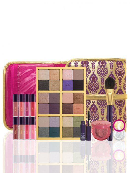 carried away with tarte collector's set & adventurer bag from tarte cosmetics on Wanelo