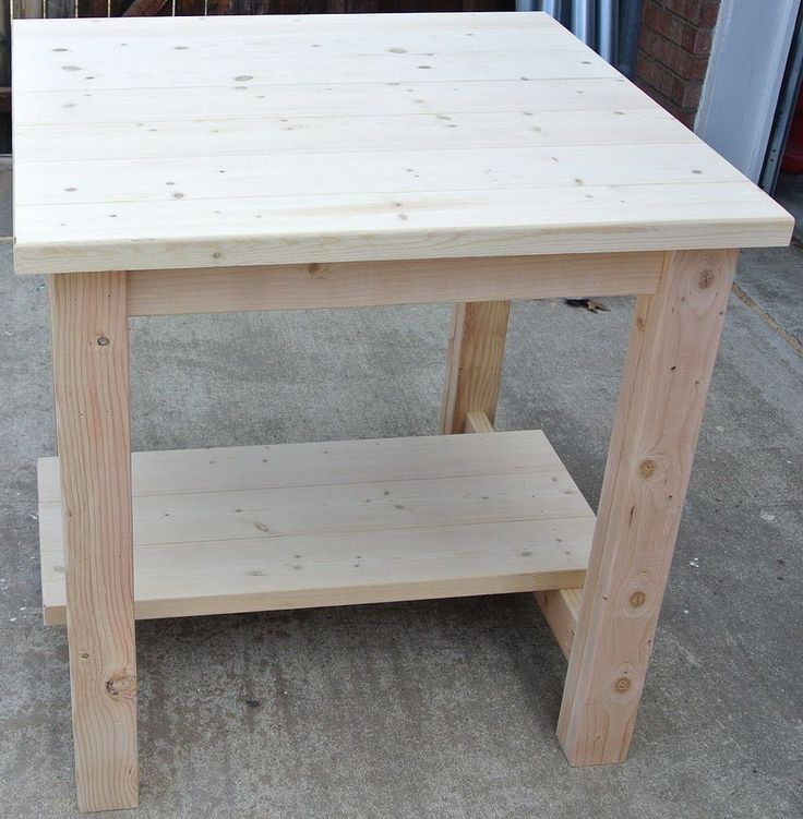 Quick And Inexpensive Pub Table