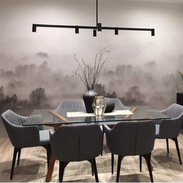 Gorgous contribution by interior designer Maria Bonomi TLC interior design...using our Morning Fog Wallpaper ... Thanks for sharing Maria.