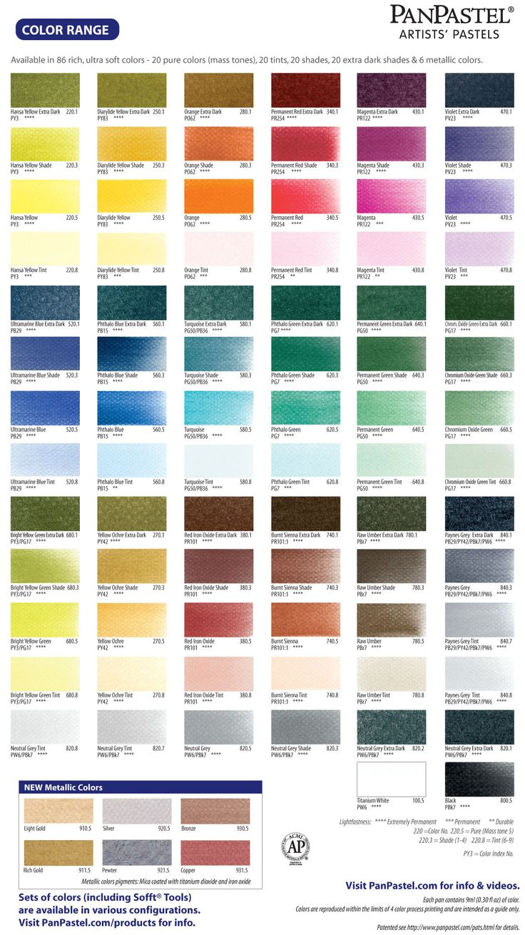 Folk art color chart acrylic paint - Panpastel Colors Ultra Soft Artists Painting Pastels Coming Soon To Poly Clay Play