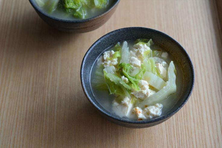 疲れた胃にやさしい、新年の精進スープ スープ・レッスン 有賀薫 cakes(ケイクス)