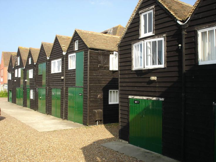 Fisherman's Huts - Best B in Whitstable, Kent, England | Cool Places UK