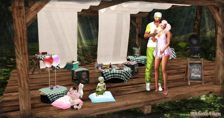 https://flic.kr/p/K97EVh | Michaela - Family Outings - Barbeque 1 | Family Outings - Barbeque  Location: Vixen's Creative Studios Photographer & Model: Michaela Vixen (VampBait69) Male Model: Blood (BloodIsKind) Toddleedoo Models: Elizane & Ivanez Vixen  Set Design & Creation: Michaela Vixen (VampBait69)  Vixen's Log - More Info & Credits Here