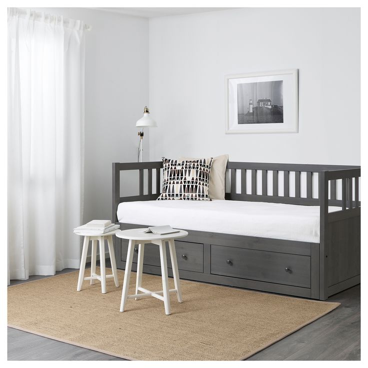 HEMNES Daybed frame with storage - IKEA