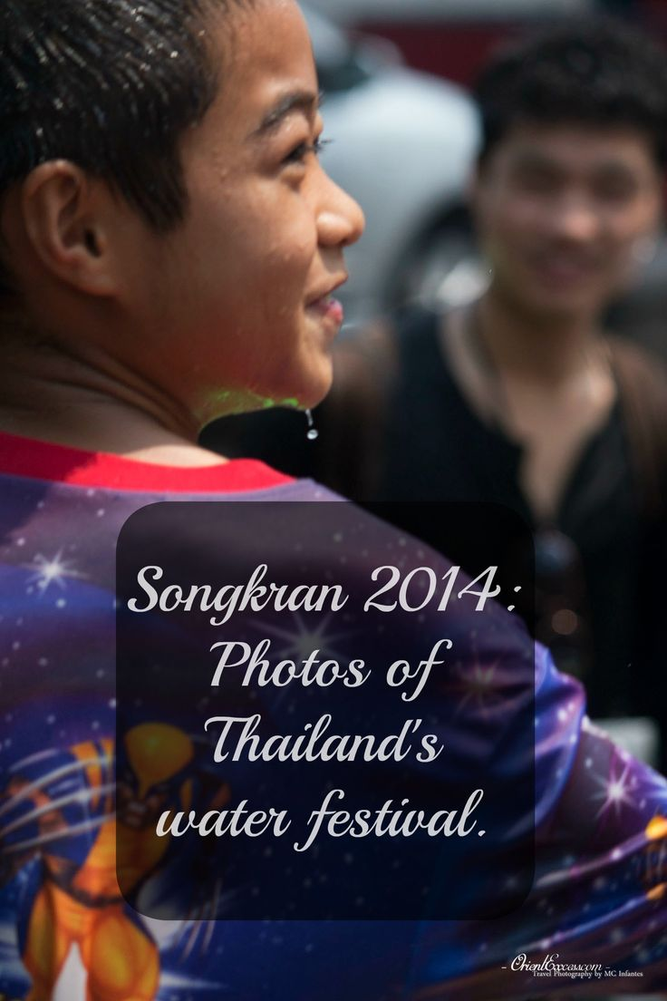 The #festival of Songkan in #Thailand is a giant water fight in the streets. It's a lot of fun and people get back to being children for a few days. Discover a few photos of that event through our article.