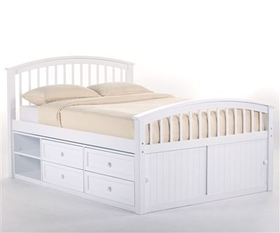 School House Full Size Captains Bed White http://www.ekidsrooms.com/School_House_Full_Size_Captains_Bed_White_p/ne7075.htm