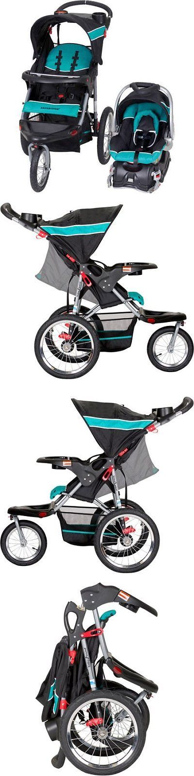 Baby: Baby Trend Expedition Jogger Travel System 3In1 Stroller Car Seat Electric Lime -> BUY IT NOW ONLY: $197.6 on eBay!