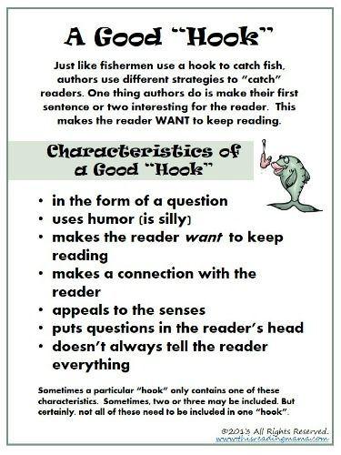 Hook of essay