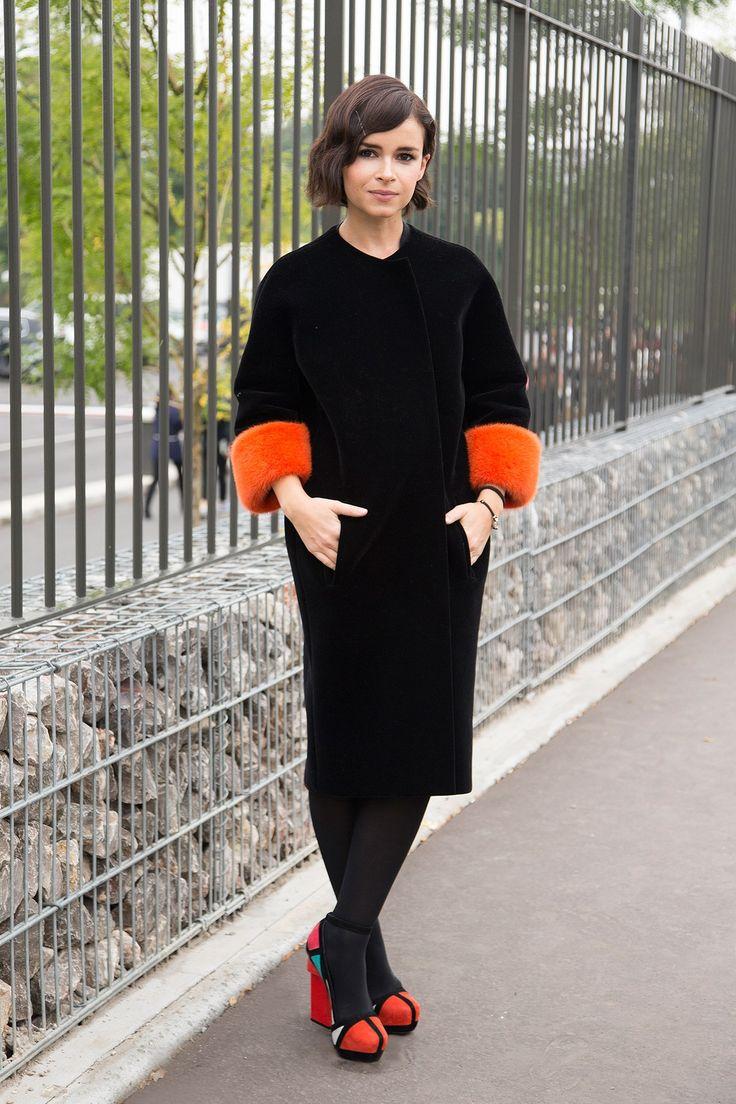 Paris Fashion Week Spring/Summer 2014 Street Style