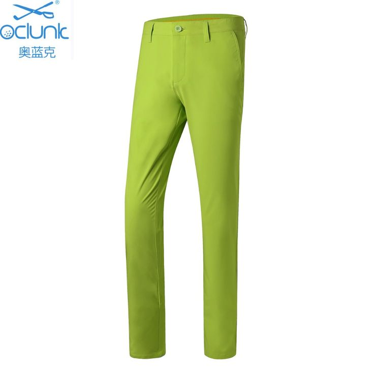 2017 new arrival men golf pants summer full long pants golf training trousers sports pants 5 colors quick dry brand pants
