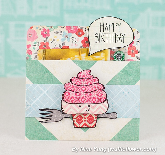 nina-yang-sketchy-cupcake-birthday-card by Nina (waffleflower.com), via Flickr