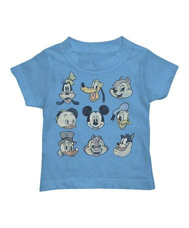 Another Great Find On #zulily! Blue Disney Faces Tee   Toddler #zulilyfinds