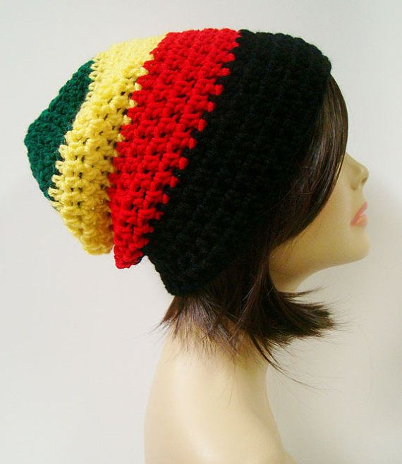 FREE SHIPPING - Supa Slouch Unisex Crochet Beanie Hat ...