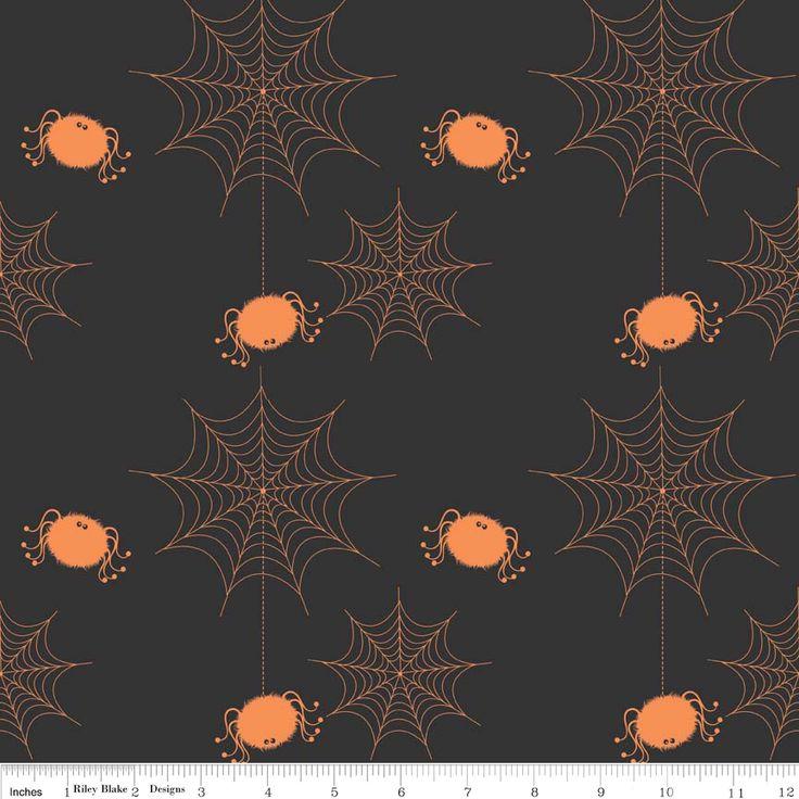 FQ0219 Halloween Basics - Riley Blake Designs