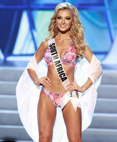 Miss Universe 2012 Bikini Bodies: Top 16: Miss South Africa