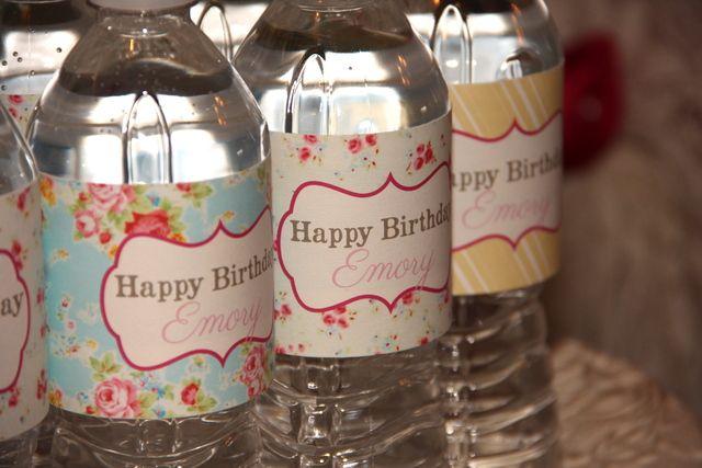 """Shabby Chic / Birthday """"Shabby Chic 2nd Birthday Party""""   Catch My Party"""