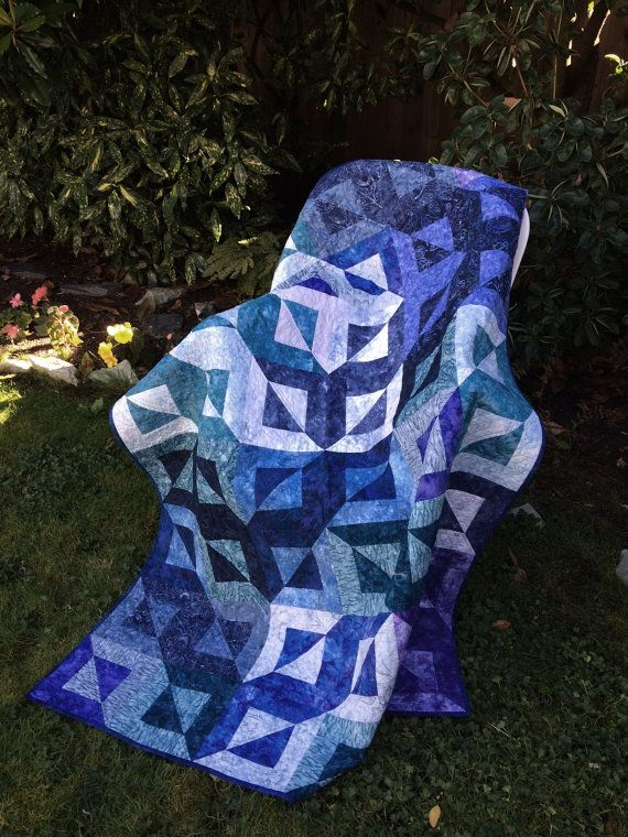 Magic Squares Quilt Kit by pacificspiritquilts on Etsy