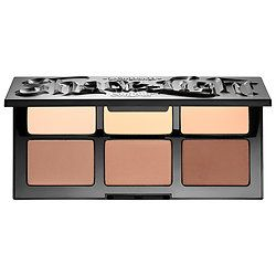 Shop Kat Von D's Shade + Light Face Contour Refillable Palette at Sephora. The all-matte contour palette has contouring and highlighting shades.
