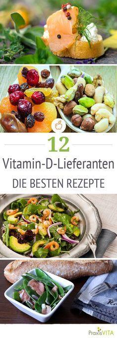 Die 12 besten Vitamin D Lieferanten