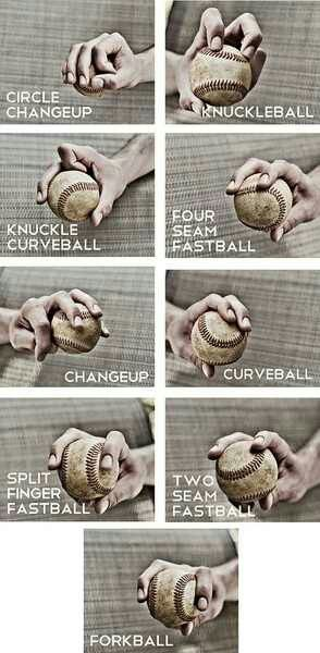 Hand placement for pitches