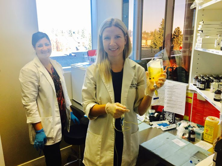 Double trouble in the IV lab room. #iv #ivtherapy